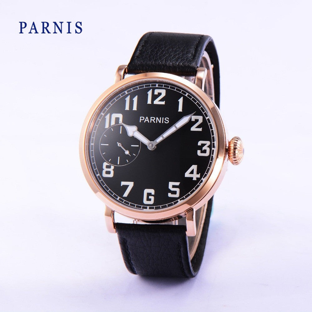 PARNIS B3-KRK 43mm Mechanical - Moment at Hand