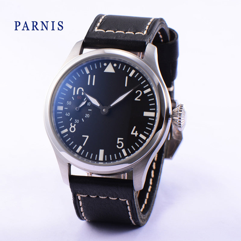 PARNIS Aviator K-KSK 43mm Mechanical - Moment at Hand