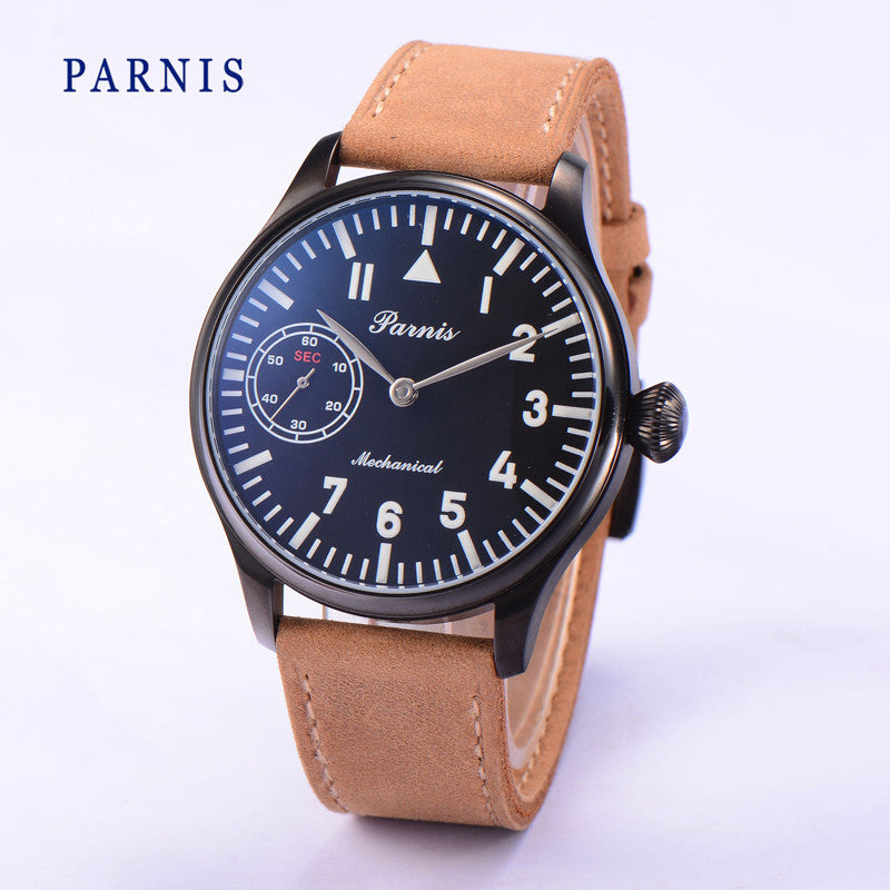 PARNIS Aviator B2-KKT 40mm Mechanical - Moment at Hand