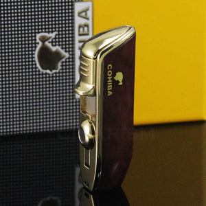 Cohiba CB-008 3 Jet Snake Mouth Lighter - Moment at Hand