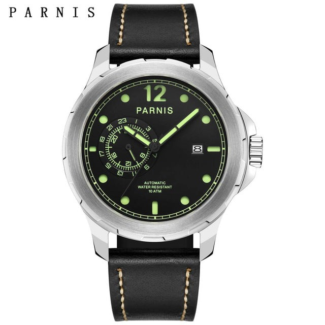 PARNIS PA678 Voyage Series Tourbillion Automatic - Moment at Hand