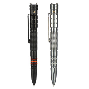 Tungsten Steel Tactical Pen w/ LED Torch - Moment at Hand