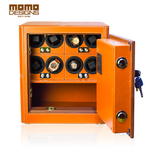 Momo Designs 4 or 8 Piece Watch Safe and Winder - Moment at Hand