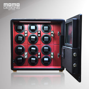 Momo Designs 12 Piece Watch Safe and Winder - Moment at Hand