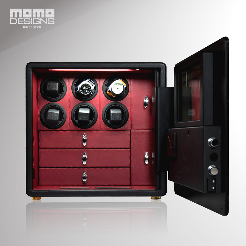 Momo Designs 6 or 9 Piece Touch Screen Watch Safe and Winder - Moment at Hand