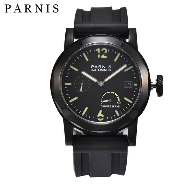 PARNIS PA1061 GMT Diver Power Reserve Automatic - Moment at Hand