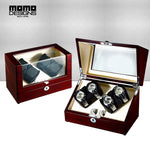 Momo Designs 2 to 8 Piece Watch Winder Display Case - Moment at Hand