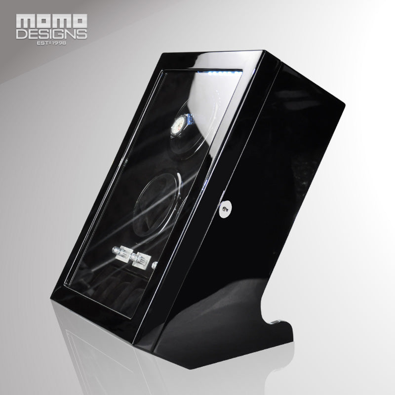 Momo Designs 8 Piece Watch Winder & Display Case - Moment at Hand