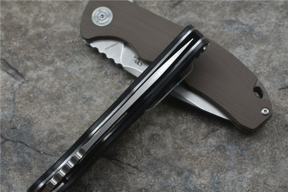 CH 3504 Easy-Flip Folding Knife - Moment at Hand