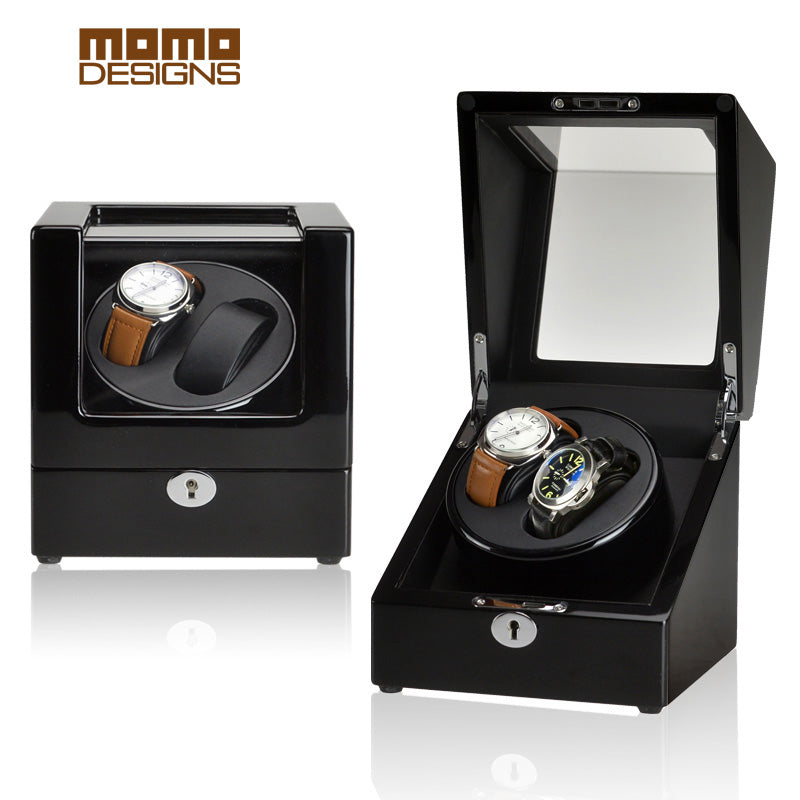 Momo Designs 2 Piece Watch Winder Display Case - Moment at Hand
