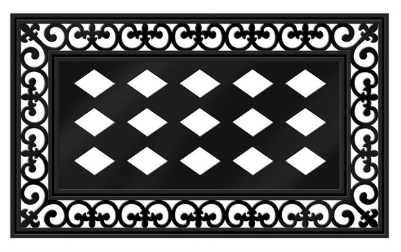 Door Mat - SWITCH MAT BASE FLEUR DE LIS