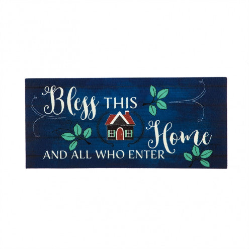 Door Mat - Bless This Home Switch Mat Insert