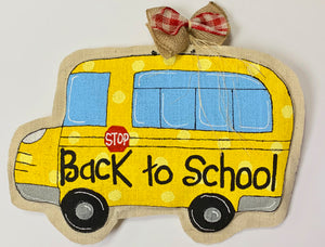 Door Hangers - School Bus