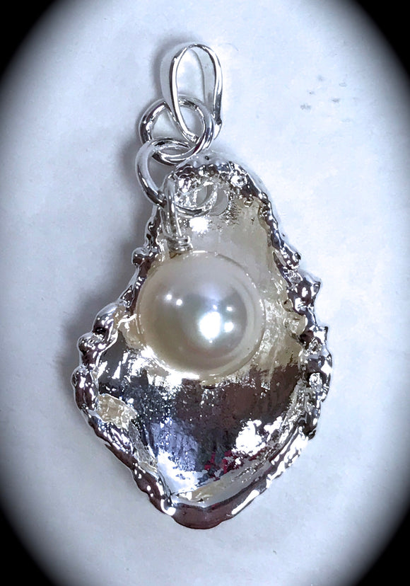 Jewelry - Birthstone Oyster Pendant