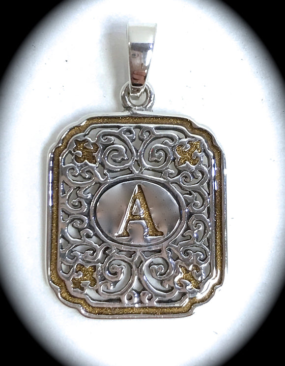 Jewelry - Iron Works Initial Pendant