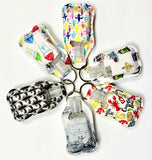 Mask - 1oz. Neoprene hand sanitizer/lotion holder