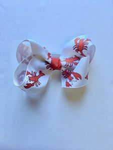 Crawfish Hair Bows