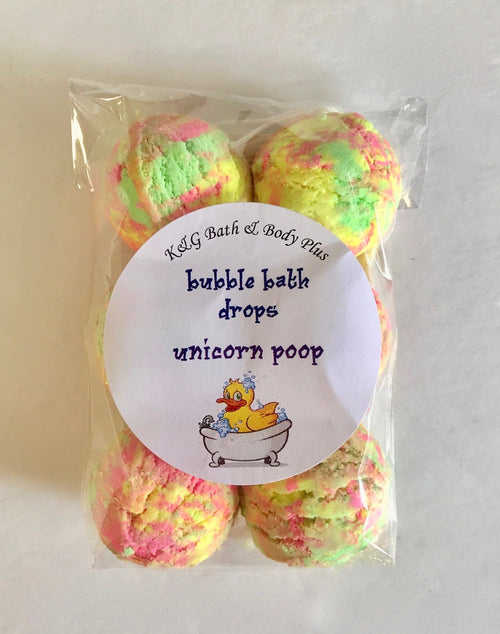 Unicorn Poop Bubble Drops