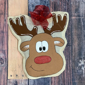 Door Hangers - Christmas Burlap Door Hangers