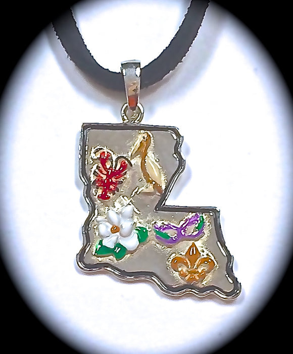 Jewelry - Louisiana Paradise Pendant