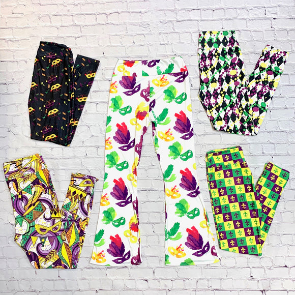 Apparel - Mardi Gras Leggings