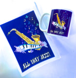 Coffee Mug & Tea Towel -All That Jazz
