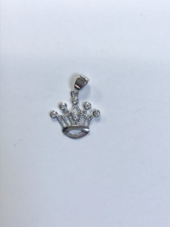 Jewelry - CZ Crown charm - Small