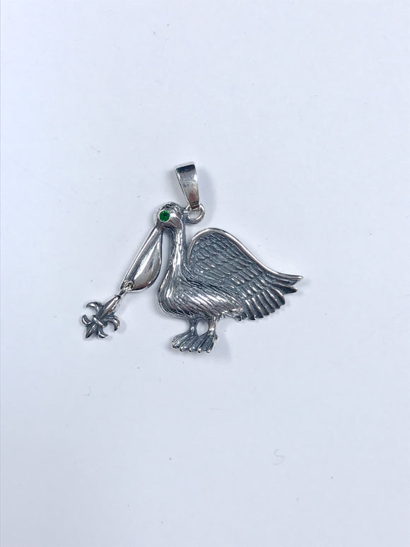 Jewelry - Green Eyed Pelican