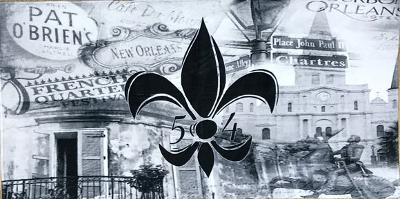 Accessories - NOLA Black FDL Beach Towel
