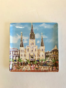 St. Louis Cathedral Dish