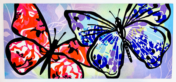 Door Mat - Large Butterfly Switch Mat Insert