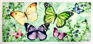 Door Mat- Multi Butterfly Switch Mat Insert