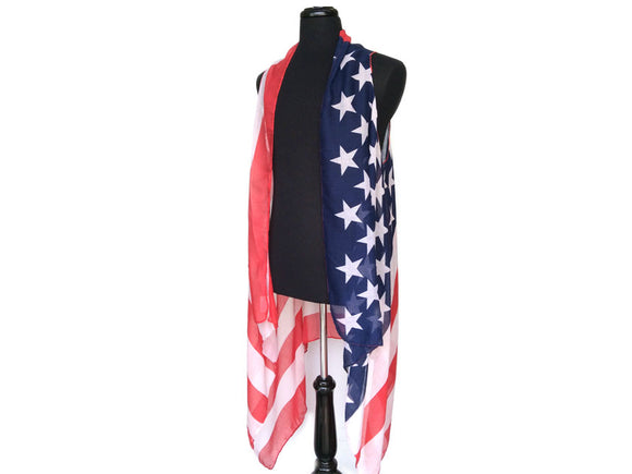 Apparel- Flag Scarf Vest