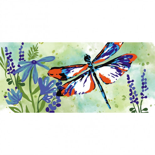 Door Mat - Painted Dragonflies Switch Mat Insert