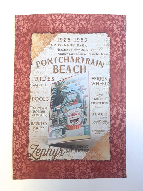 Ponchartrain Beach Garden Flag