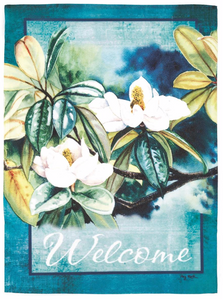 Flags - Magnolia Welcome Garden Flag