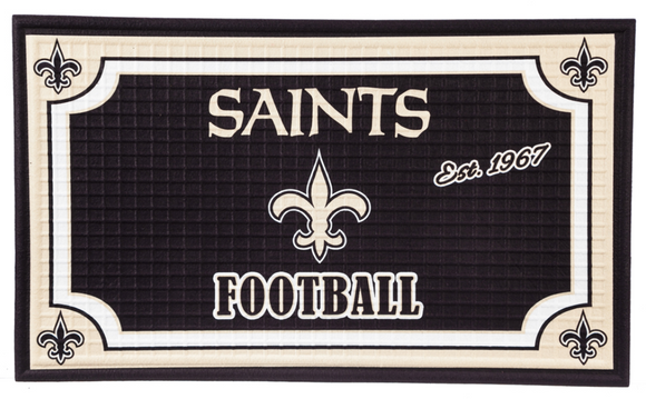 Door Mat - Saints Door Mat