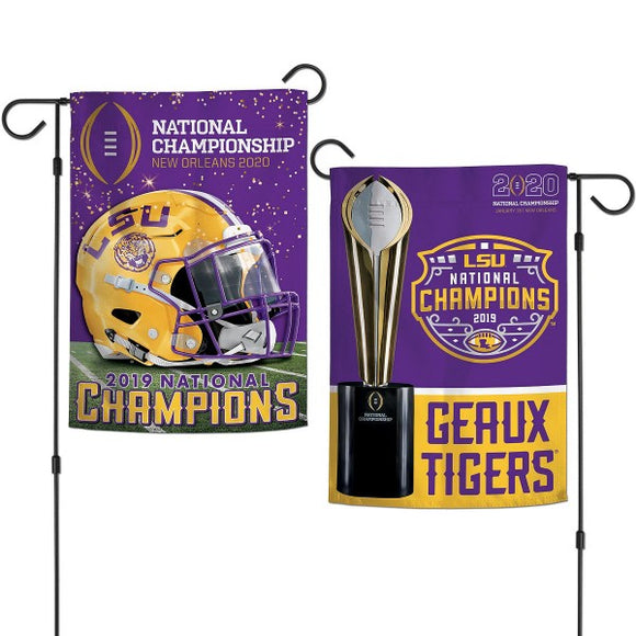 LSU National Championship Garden Flags