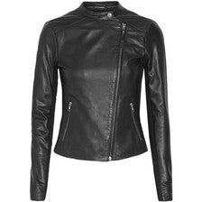 Aaliyah Womens Leather Jacket