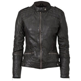 Womens Bella Leather Jacket