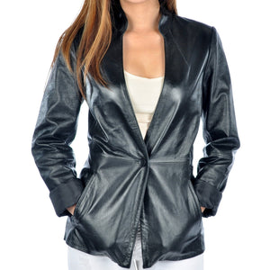 Womens Olivia Leather Jacket