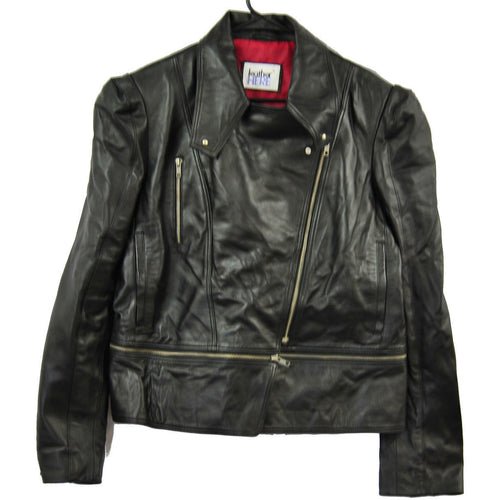 Clearance 2XL Womens Biker Leather Jacket