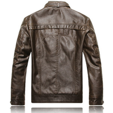Mens Silk Leather Jacket