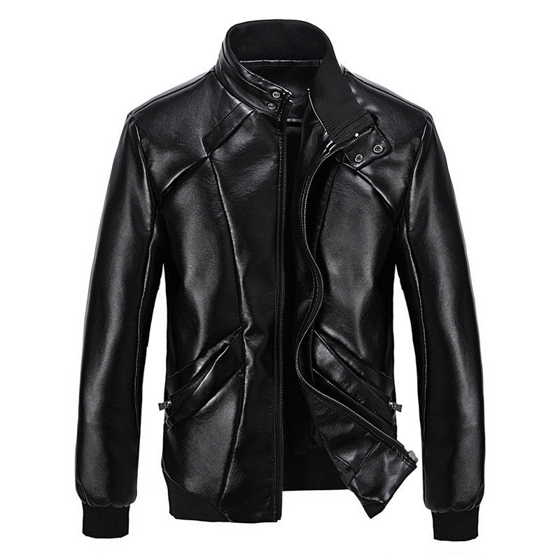 Mens Calypso Leather Jacket