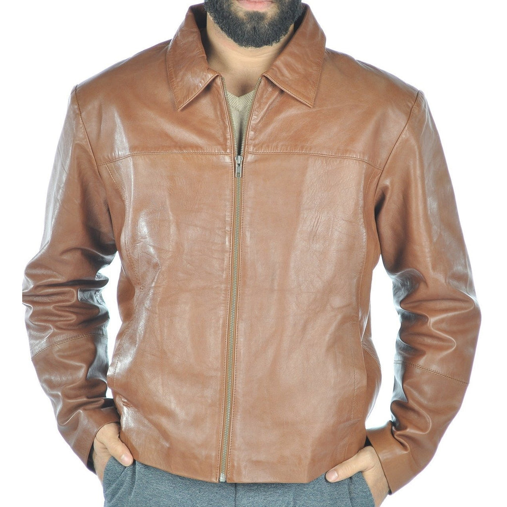 Mens Pro Leather Jacket