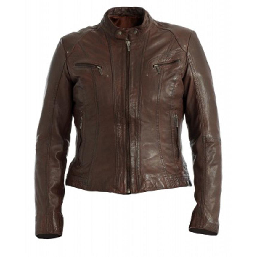 Womens Fincha Leather Jacket