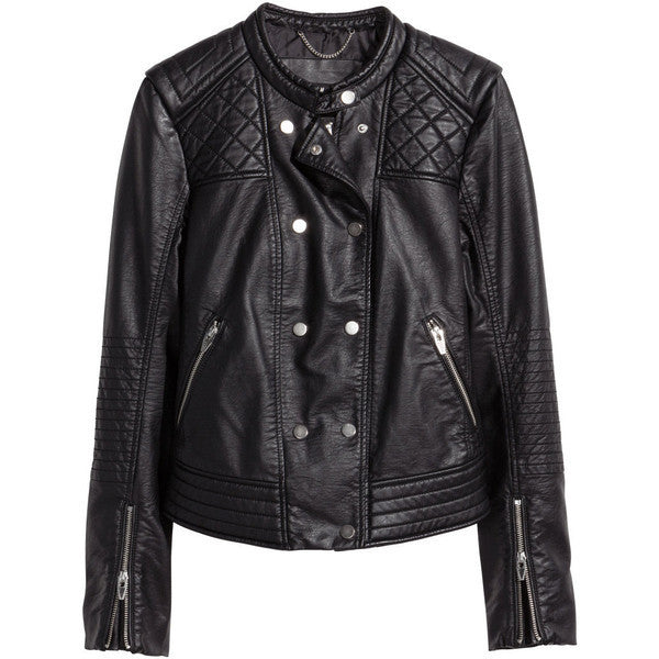 Mens Abare Leather Jacket