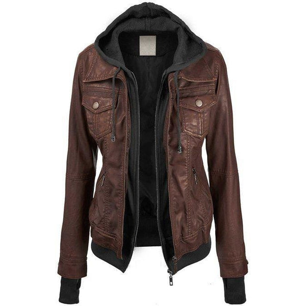 Womens Annalise Leather Jacket