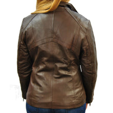 Womens Antique Arra Leather Jacket