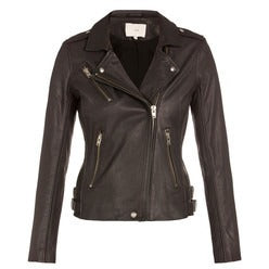 Womens Ava Leather Jacket